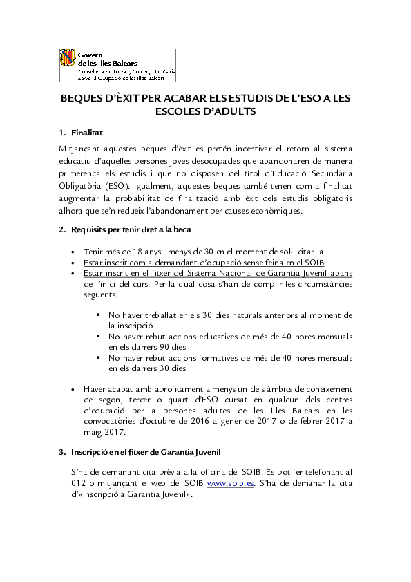Informació Beques Segona oportunitat-definitiu