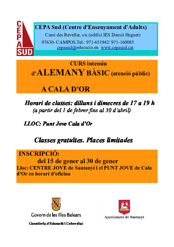 Cartell oferta Santanyí 17-18 (1) curs alemany- PDF